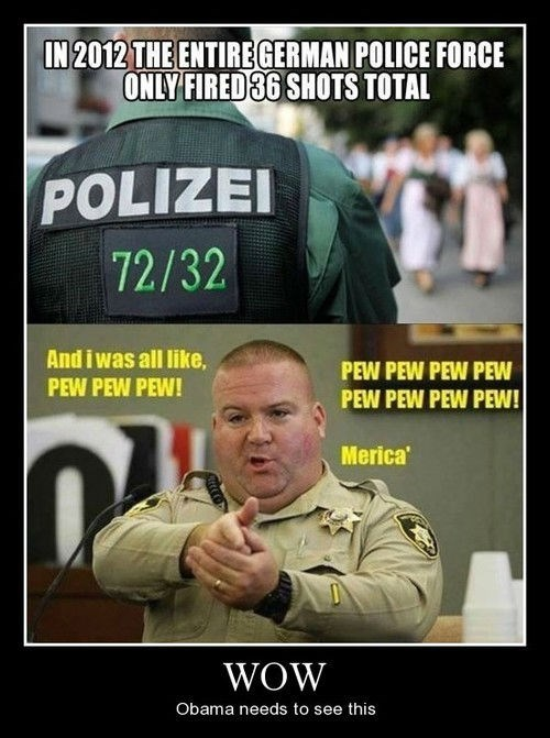 america Germany funny police - 8325487104