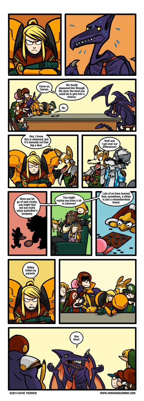 super smash bros ridley web comics - 8325730816
