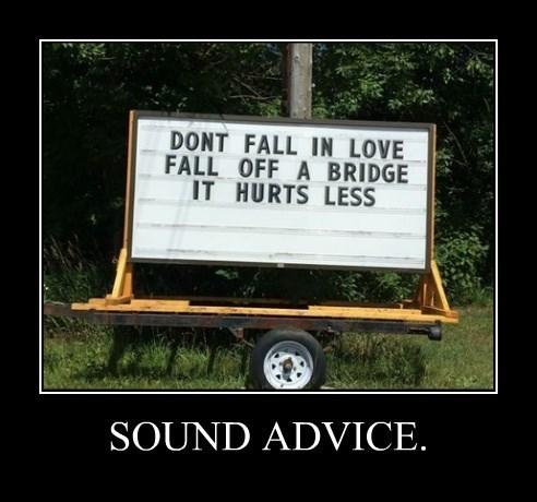 bad idea funny love sound advice - 8325922560