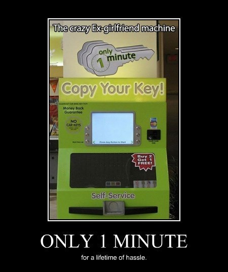 bad idea copy funny keys