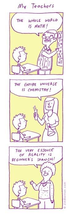 teachers school spanish web comics - 8325957888