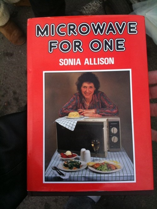 forever alone,depressing,cookbook,funny