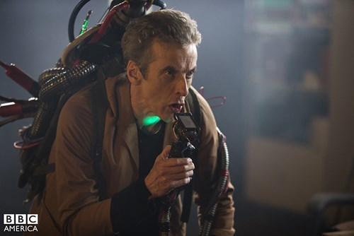 behind the scenes Ghostbusters 12th Doctor - 8326057984