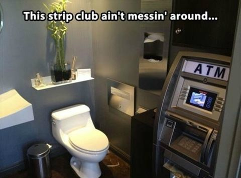 ATM,strip clubs