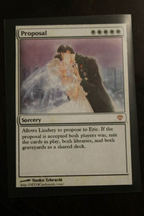 magic the gathering proposal - 8326120704