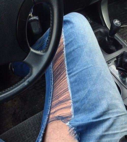 jeans poorly dressed ripped - 8326225920