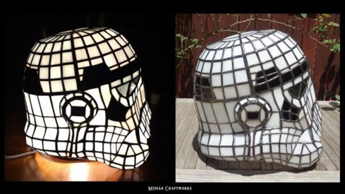 design star wars nerdgasm stained glass stormtrooper - 8326350592
