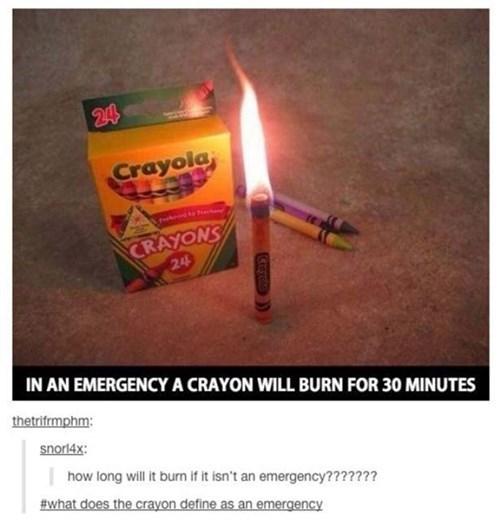 crayons,tumblr