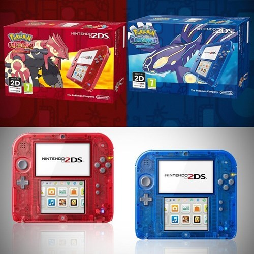Pokémon transparent 2DS ORAS - 8327123968