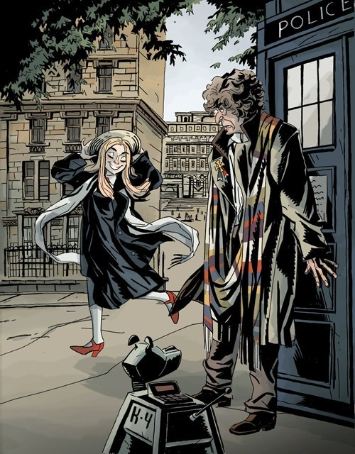 classic who Fan Art romana 2 4th doctor - 8327208192