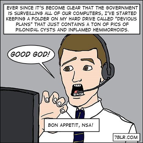 NSA life hacks win web comics