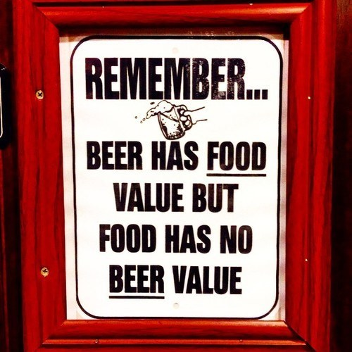 beer sign food funny after 12 g rated - 8327236608