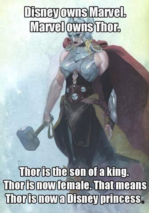 disney princess Thor - 8327267840