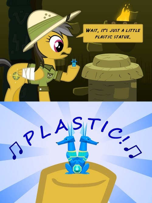 daring do Fan Art plastic - 8327334656