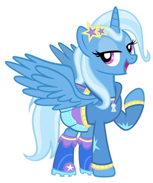 alicorn Fan Art the great and powerful trixie - 8327343360