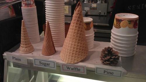 food,puns,sign,ice cream