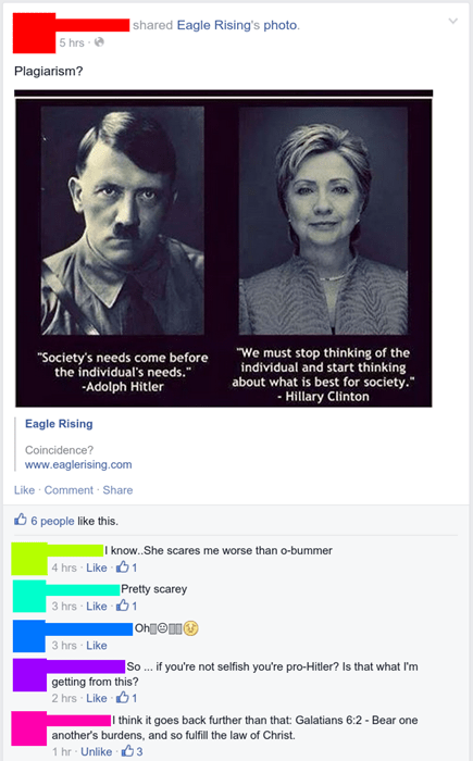 bible,burn,irony,Hillary Clinton,failbook