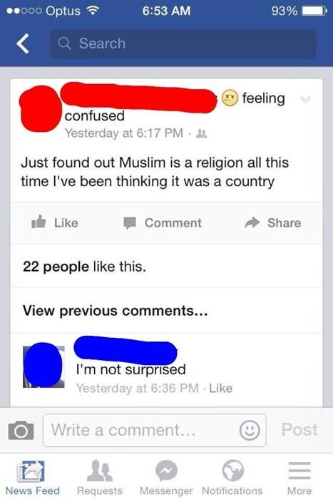 america religion facepalm islam muslim - 8327476736