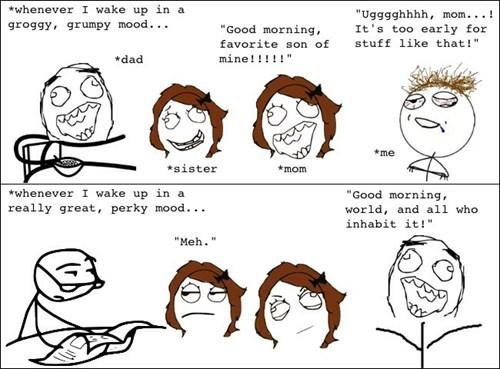 family waking up - 8327975168