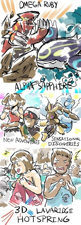 hot spring Pokémon ORAS - 8328043264