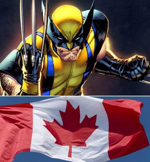 Canada superheroes wolverine - 8328097536