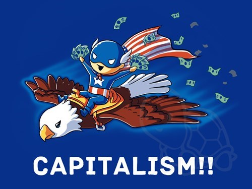 eagles,capitalism,captain america