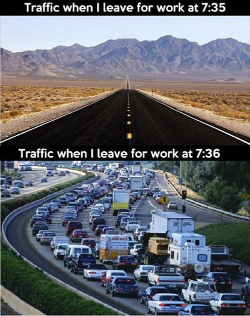 driving commute monday thru friday traffic g rated - 8328174848