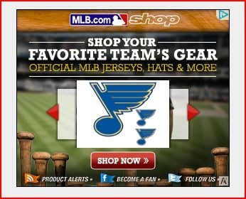 NHL's St. Louis Blues are now apparently a baseball team. Touchdown Yankees.