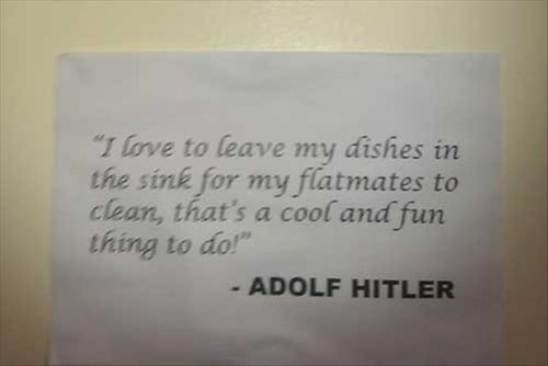 adolf hitler dishes quotes literally hitler - 8328244224