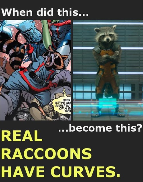 body image guardians of the galaxy rocket raccoon - 8328251136