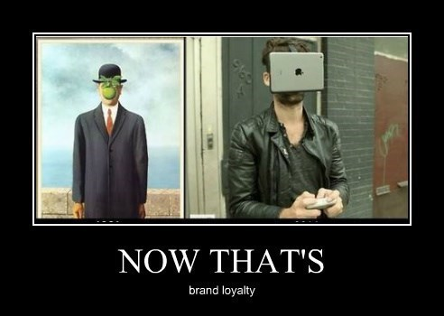 apple brand loyalty funny - 8328320256
