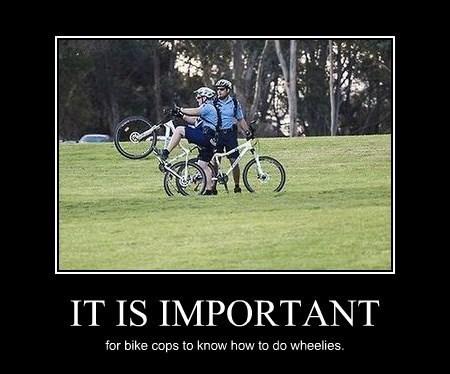 bikes cops funny skills - 8328321280