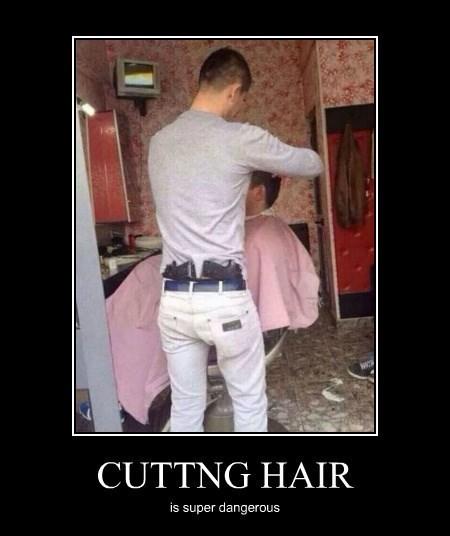 guns funny hair cut wtf - 8328321792