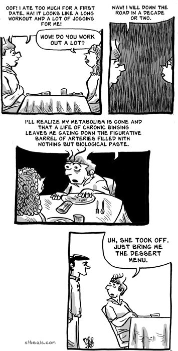 dating diet sad but true web comics - 8328393472