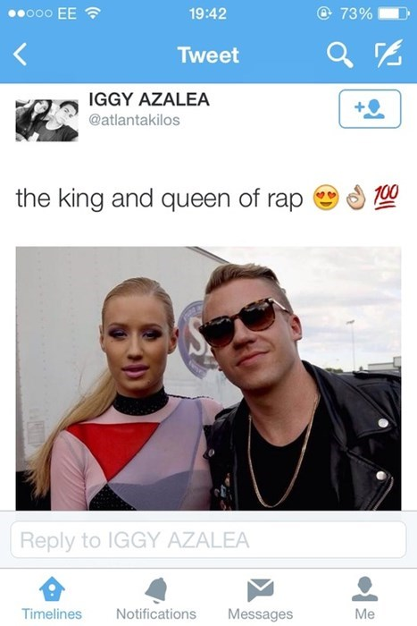 hip hop rap twitter Macklemore white people iggy azalea failbook - 8328465152