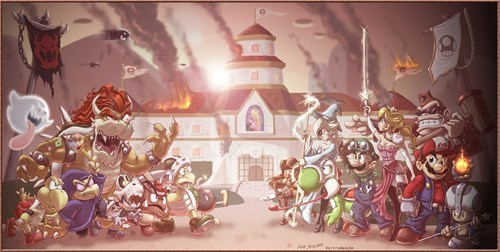 crossover dynasty warriors mario - 8328505856