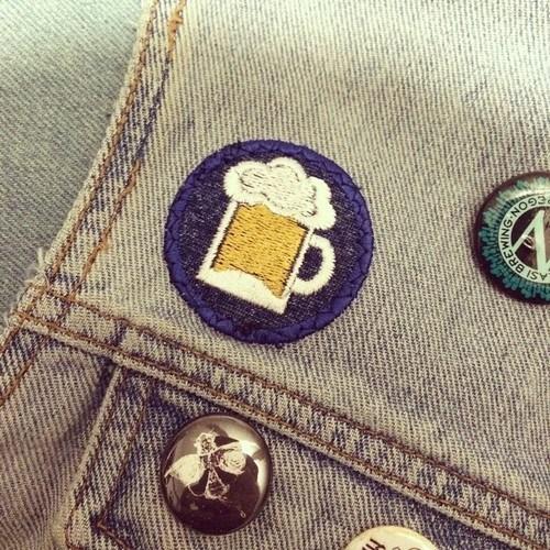 beer funny merit badge - 8328566272