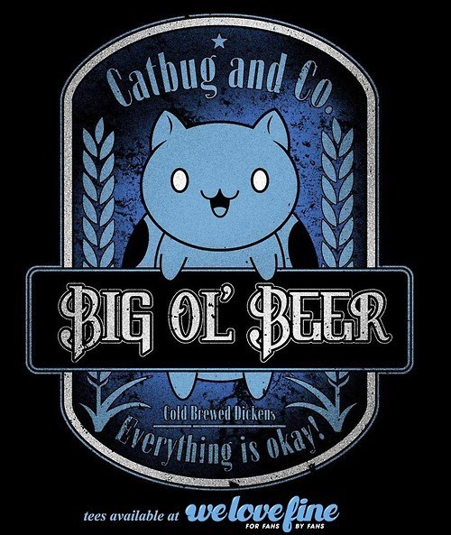 beer awesome funny t shirts catbug - 8328575232