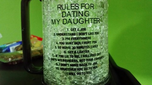 dating,daughter,funny,mug