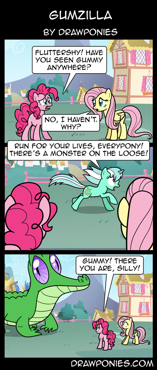 gummy pinkie pie web comics - 8328702464