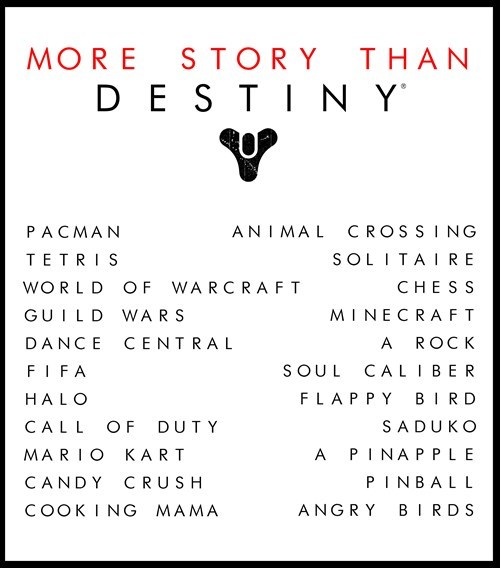destiny video games story