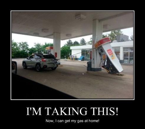 gas cars idiots funny - 8329086720
