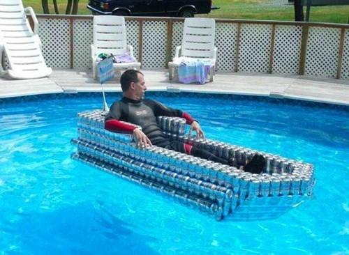 beer beer boat swimming - 8329122304