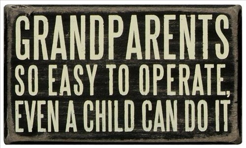 kids grandparents parenting sign - 8329165312