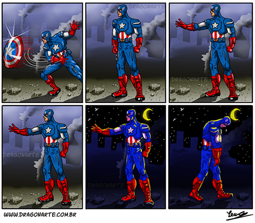 captain america web comics vibranium shield - 8329178368