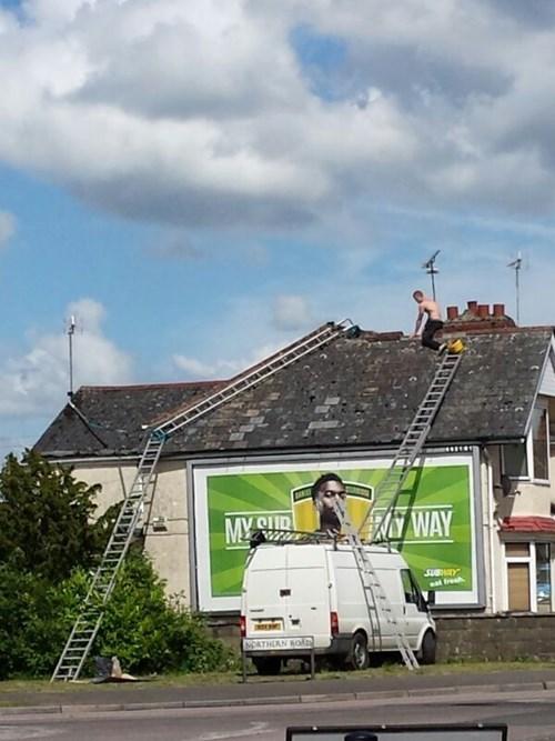 ladder monday thru friday safety first - 8329195008