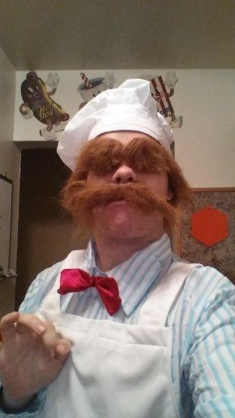 costume,bork bork bork,swedish chef,poorly dressed