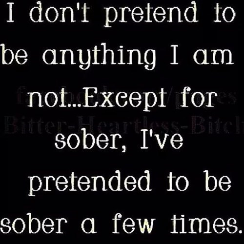 drunk funny pretend sober - 8329355776
