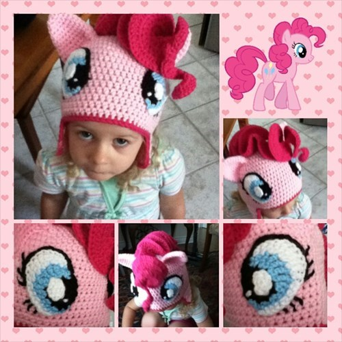 cute crochet pinkie pie - 8329383168