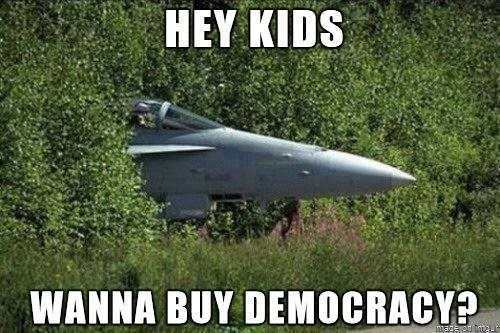 democracy hey kids - 8329408512